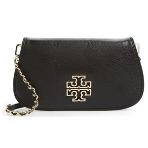 TORY BURCH Britten Black Crossbody Bag